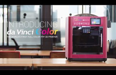 Da Vinci Color une imprimante FDM couleur