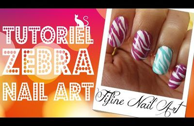 ★ Tutoriel Zebra Nail Art ★