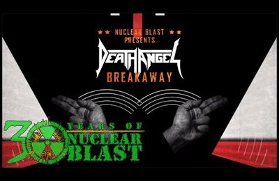 "Nouvelle lyrics video de DEATH ANGEL ""Breakaway"""