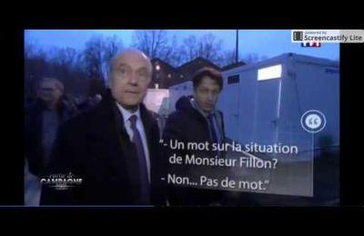 Le clown Chocolat  .... Alain Juppé et François Fillion sur TF1 ????
