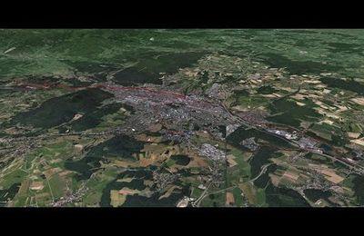 Parcours en vtt autour de Belfort (90)
