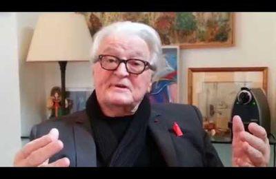 """Roland Dumas:""""Dès qu'il y a un mauvais coup, les socialistes sont là"""""""