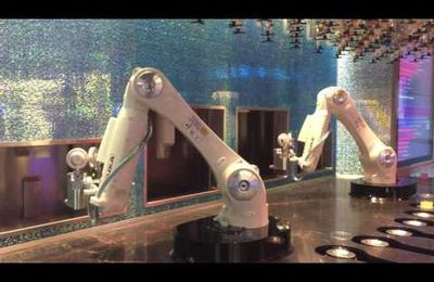 Bar robotisé