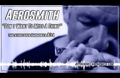 Aerosmith - I Don t Want To Miss A Thing - Harmonica A