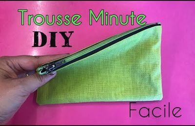 Coudre une Trousse - La Trousse Minute - Tuto Couture Facile