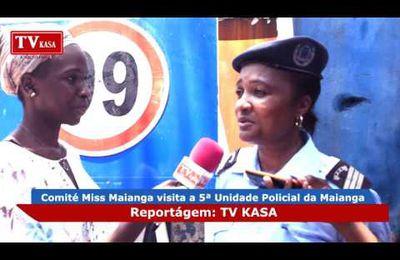 [Angola] COMITÉ MISS MAIANGA VISITA A 5ª UNIDADE POLICIAL DA MAIANGA