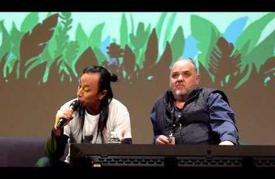 Le roi Burgonde et un Hun à propos de Kaamelott au TGS 2016 !