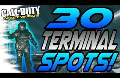 Glitch / Infinite Warfare : les 30 spots secret de Terminal !