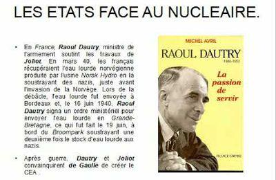 LA BATAILLE POUR L'EAU LOURDE (1939-1944).