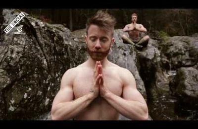 Séance de yoga en kilt