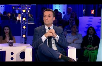 Florian Philippot - On n'est pas couché 1er avril 2017