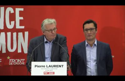 Conférence de presse de Pierre Laurent - 9 mai 2017