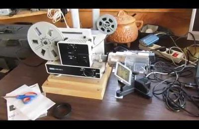 Transfert de films 8 mm