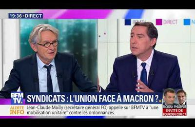 Jean Claude Mailly face à Laurent Neumann...