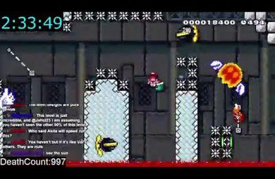 Super Mario : le niveau impossible