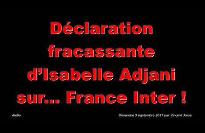 Isabelle Adjani parle des vaccins obligatoires