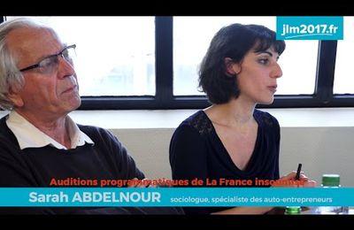 VIDEO : Ubérisation et salaire à vie  : la rencontre Sarah Abdelnour - Bernard Friot - Jean-Luc Mélenchon