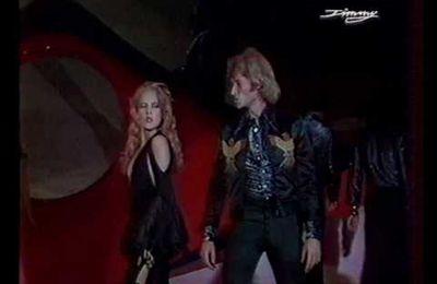 Sylvie Vartan et Johnny Hallyday se produisent ensemble au palais des Sports