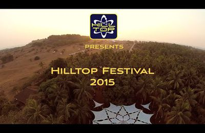 Goa trance party in Hill Top, Goa