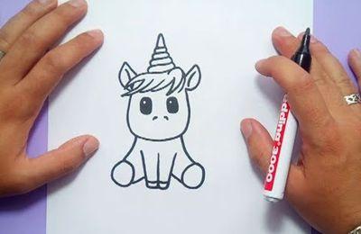 Como dibujar un unicornio paso a paso 4