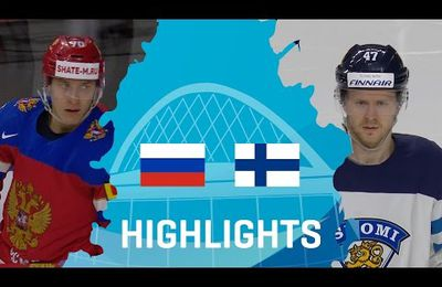 IIHF Worlds 2017 - Russia - Finland - Bronze Medal - 21/05/2017. (2 videos)