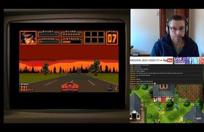 Amiga: Crazy Car 1, 2, 3 + Fire And Forget 1 et 2 (Live Twitch)
