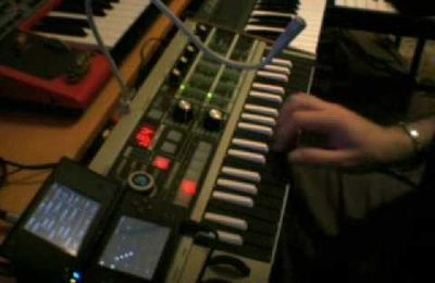 Daft Punk Discovery, KORG DS-10 + MICROKORG