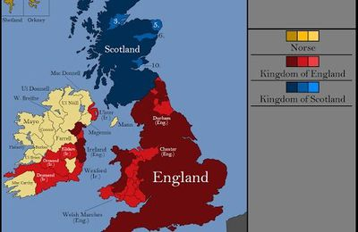The History of the British Isles -year by year !