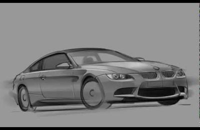 "Speed ""Sketching"" - BMW"