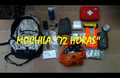 Supervivencia: Mochila 72 horas