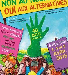 Du 3 au 5 Avril : 40 ans de la main verte