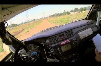 Gary Chaynes GaZzzz à fond... Rallye Bandama 2014...