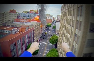 What if we gave Superman a GoPro?
