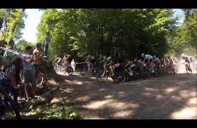 vidéo championnat de France Ufolep vtt