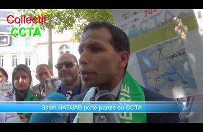 Nouvelle colère d'algériens devant l'Ambassade