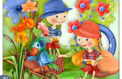 Happy Spring - mini kit