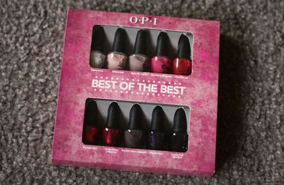 Best of the Best, OPI Giveaway #14
