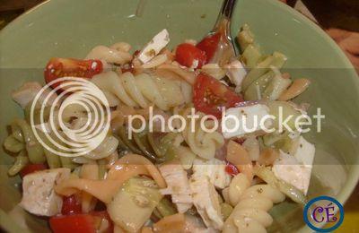 Recette: Salade de pâte à la greque