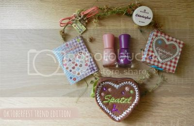 Oktoberfest trend edition by essence - give away