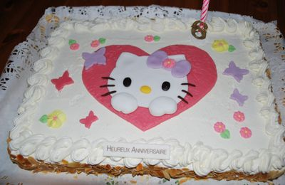 Gâteau Hello Kitty - Hello Kitty Cake