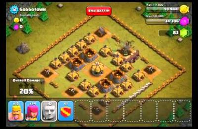 Clash of Clans Level 12 Gobbelins Ville