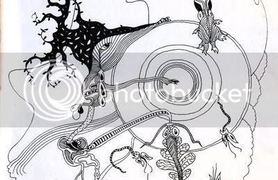 écriture automatique pour papier découpé / doodle for papercut