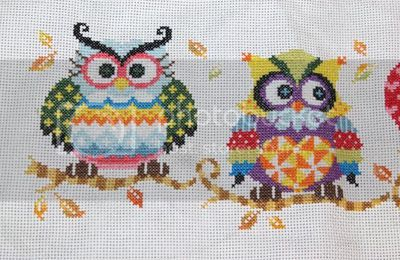 Patchwork owl family de Soda stitch