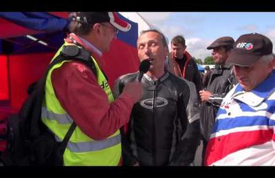 Coupes Moto Légende 2013 : interview de Guy Bertin