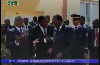 Le point de la mission de la CEEAC à Bangui