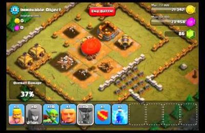 Clash of Clans Level 15 Objet Fixe