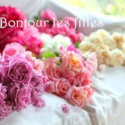 coussin aux coeurs : 1er angle