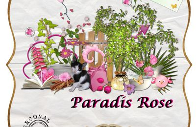 Paradis Rose by Boudinette .............freebie