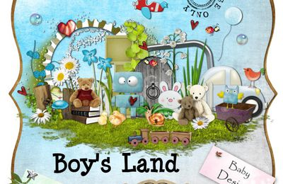 Boy's Land By Bdesigns and Baby