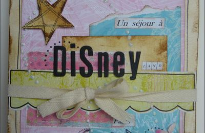 Mini album disney selon idée Iggydodie
